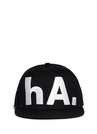 首图 - 点击放大 - HACULLA - 字母刺绣鸭舌帽