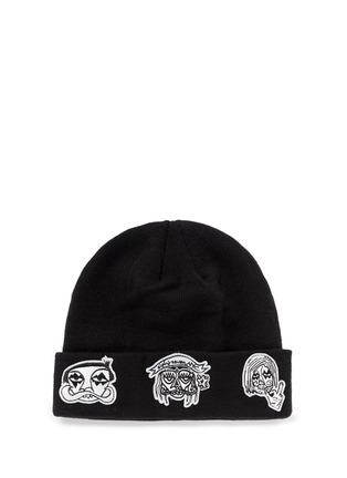 Haculla-'NYC' character patch beanie