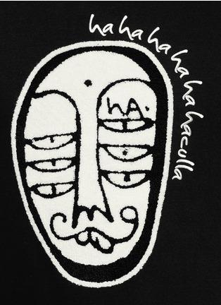 Haculla-'Soho' character patch sweatshirt