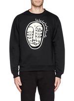 'Soho' character patch sweatshirt