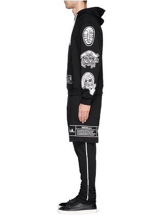 模特儿示范图 - 点击放大 - HACULLA - Soho印花层次运动裤