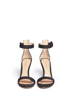 GIANVITO ROSSIPolka dot print sandals