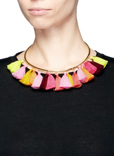 Mignonne Gavigan New York'Lily' tassel torque necklace