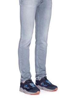 Reebok'InstaPump Fury Road MCT' colourblock slip-on sneakers