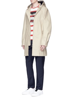Stella McCartneyGraphic print stripe organic cotton T-shirt