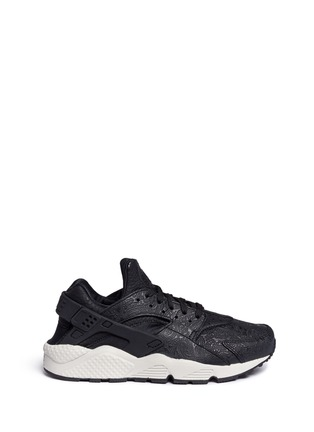 Main View - Click To Enlarge - Nike - 'Air Huarache Run Premium' paisley embossed leather sneakers