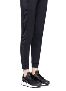 Nike'Air Huarache Run Premium' paisley embossed leather sneakers