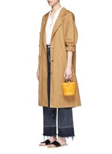 Simon Miller'Bonsai' buffed leather bucket bag