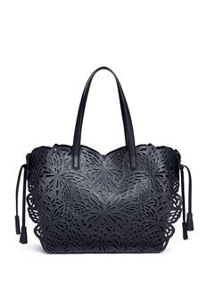 Sophia Webster'Liara' butterfly lasercut leather tote