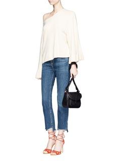 Sophia Webster'Evie' debossed butterfly leather shoulder bag
