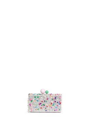 Detail View - Click To Enlarge - Sophia Webster - 'Clara' embellished hard case minaudière