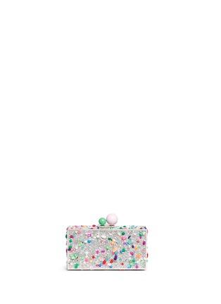 Main View - Click To Enlarge - Sophia Webster - 'Clara' embellished hard case minaudière