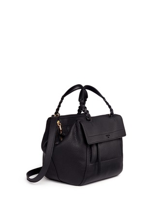 Detail View - Click To Enlarge - Tory Burch - 'Half-Moon' mini leather satchel