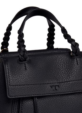 - Tory Burch - 'Half-Moon' small leather satchel