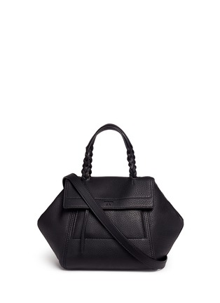 Main View - Click To Enlarge - Tory Burch - 'Half-Moon' mini leather satchel