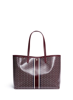 Tory Burch 'Gemini Link' coated canvas tote