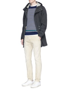 Scotch & Soda Contrast stripe cotton sweater