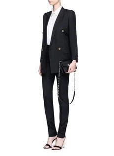 Saint LaurentVirgin wool gabardine skinny pants