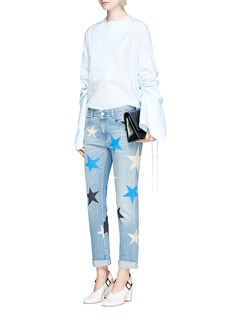 Stella McCartneyStar print slim fit boyfriend jeans