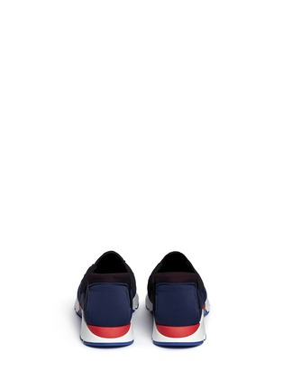 背面 - 点击放大 - Marni - Colourblock techno fabric slip-on sneakers