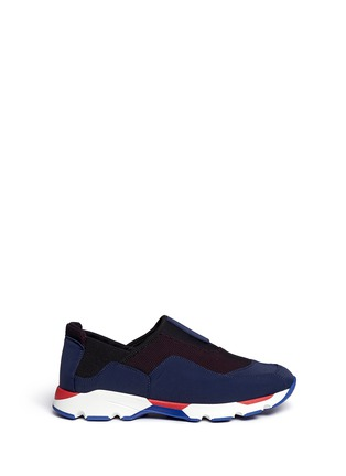 首图 - 点击放大 - Marni - Colourblock techno fabric slip-on sneakers