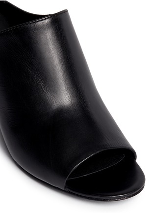Detail View - Click To Enlarge - 3.1 Phillip Lim - Open toe calfskin leather mules