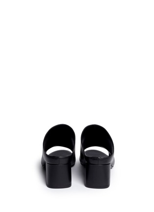 Back View - Click To Enlarge - 3.1 Phillip Lim - Open toe calfskin leather mules