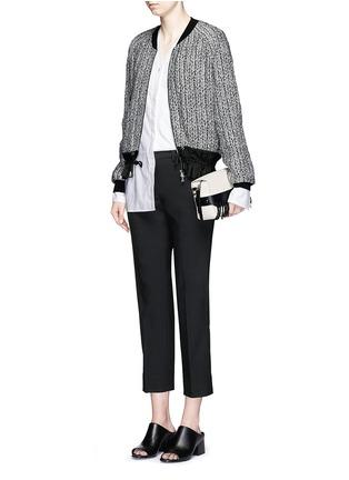 - 3.1 Phillip Lim - 'Bianca' small fringe leather crossbody bag