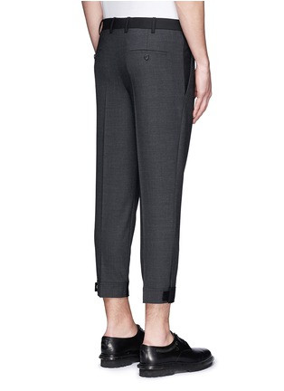 Neil Barrett - Stretch wool blend skinny fit pants