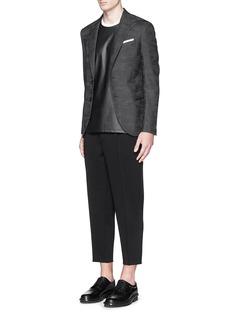 NEIL BARRETTCamouflage jacquard slim fit wool blazer