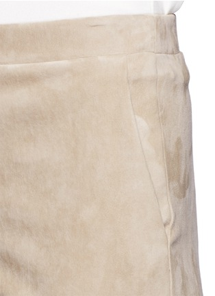 Detail View - Click To Enlarge - Theory - 'Thaniel L' lambskin suede pants
