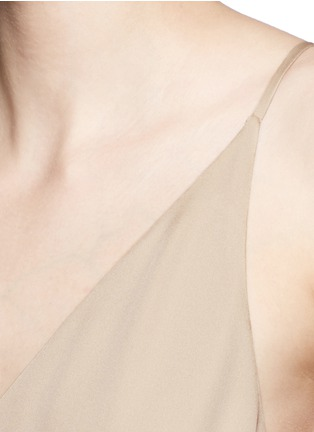 Detail View - Click To Enlarge - Theory - 'Kyun' silk georgette camisole dress