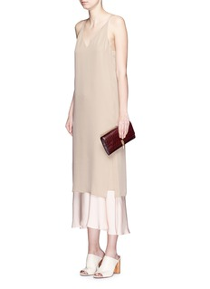 THEORY 'Kyun' silk georgette camisole dress