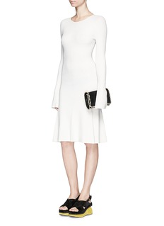 THEORY 'Solmay' slot seam flare dress