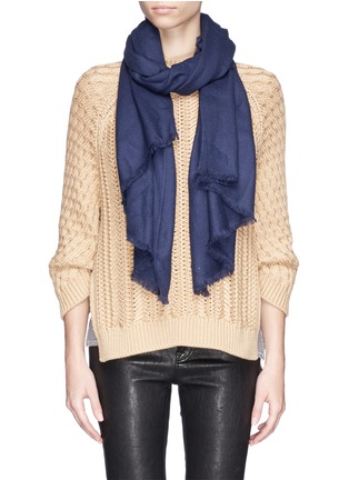 Figure View - Click To Enlarge - Ish - Cashmere scarf