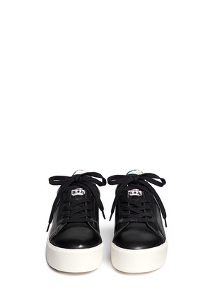 Figure View - Click To Enlarge - Ash - 'Cult' holographic trim leather flatform sneakers