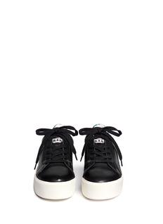 ASH'Cult' hologram trim leather flatform sneakers