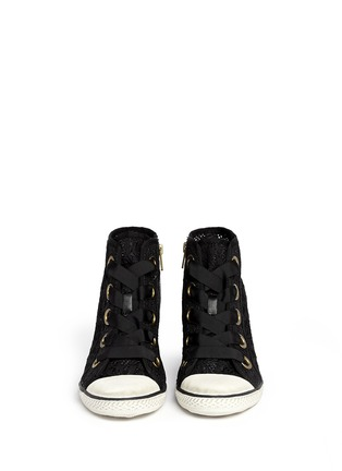 Figure View - Click To Enlarge - Ash - 'Glen' lace wedge sneakers