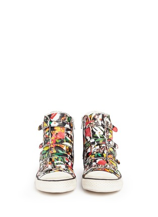 Figure View - Click To Enlarge - Ash - 'Virgin' floral print leather high top sneakers