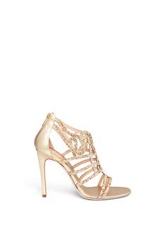 RENÉ CAOVILLACrystal spiral Venetian sandals