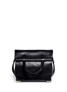 ALEXANDER WANG  Prisma leather two-way lunch bag