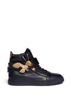 GIUSEPPE ZANOTTI DESIGN'London' eagle leather sneakers