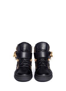 GIUSEPPE ZANOTTI DESIGN 'London' eagle leather sneakers