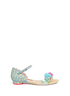 Sophia Webster 'Lilico' floral paillette embellished leather sandals