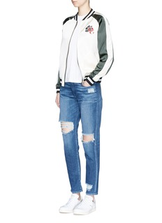 3x1 'Boy Toy' slim fit ripped jeans