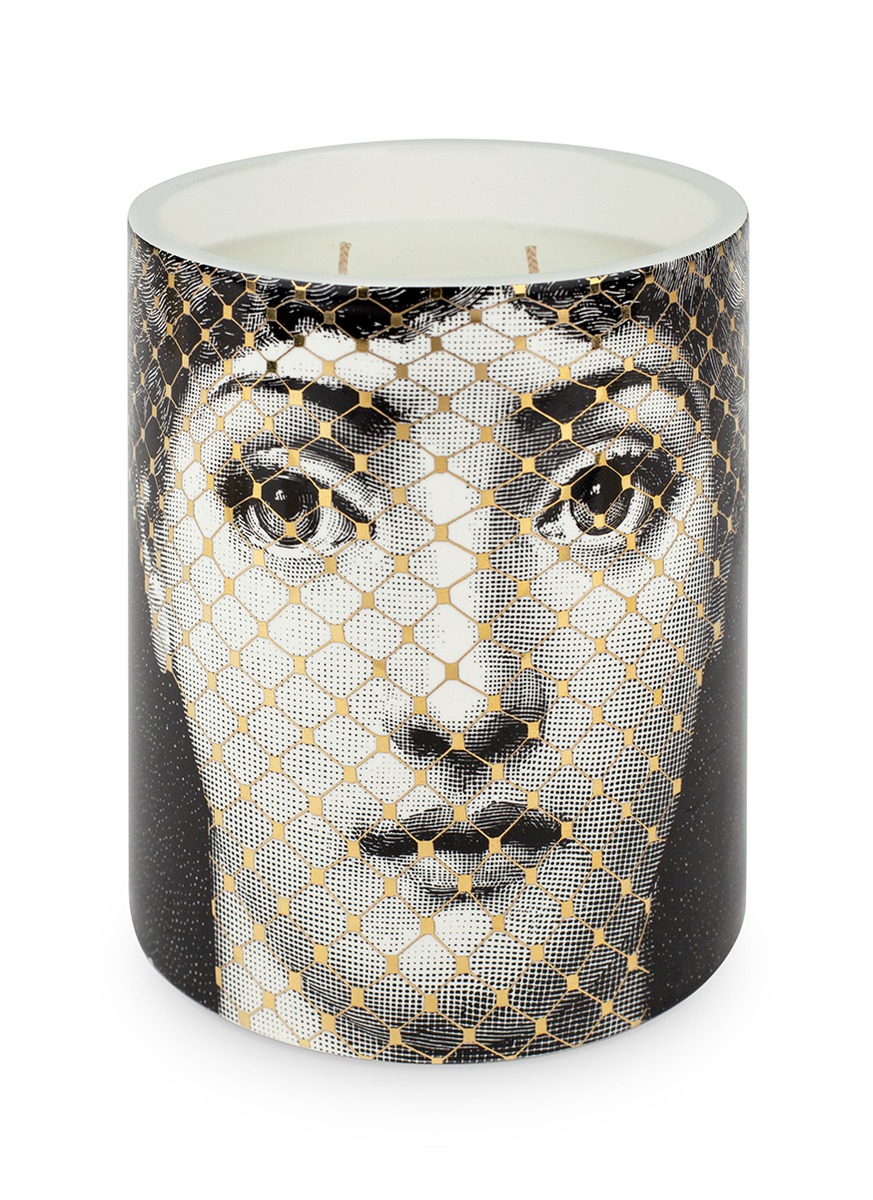 Golden Burlesque scented candle 900g by Fornasetti