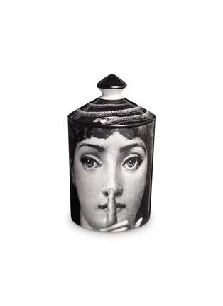 Main View - Click To Enlarge - Fornasetti - Silenzio scented candle 300g