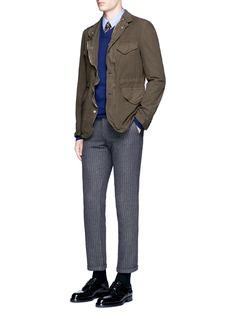 ink.V-neck cashmere sweater