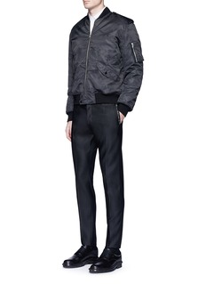 Dsquared2 'Admiral' stud virgin wool-silk pants