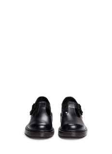 Dr. Martens 'Goldie' leather kids school shoes
